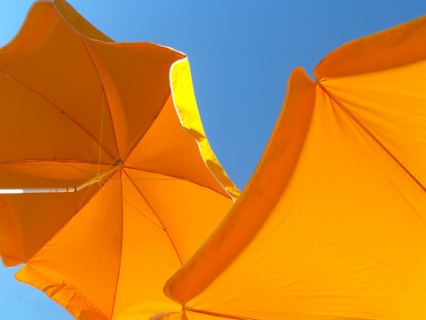 The Sun Umbrella Is Also Known As Sun Parasol Or Market Patio Umbrella.