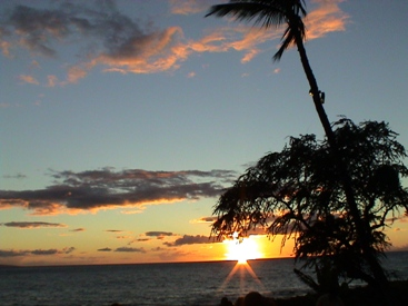 Maui Sunset , Hawaii  © 2002