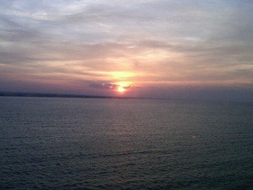 pictures of sun Bari Italy