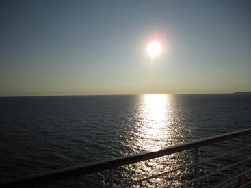picture of sun Dubrovnik Mediterranean