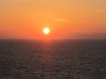 pictures of the sun Rhodes Greece