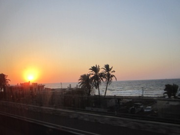 Picture of Sunset  Tel Aviv Israel