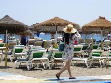 Sun protective apparel