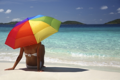 Sun Umbrella Provides Shelter For Your Skin