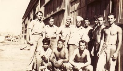 My grandfather's unit in Hawaii