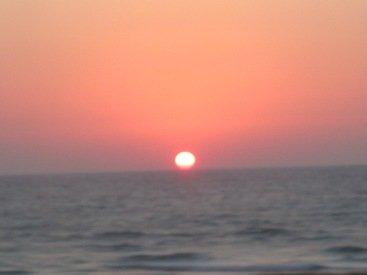 Picture of Sunset  Tel Aviv Israel
