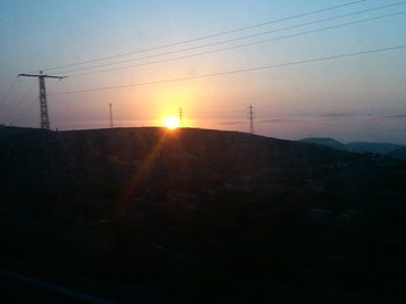 Picture of Sunset   Tiberias  Israel